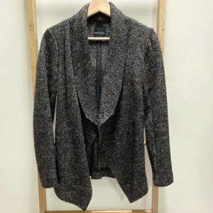 DECJUBA Wool blend Cardi Waterfall Jacket Blazer